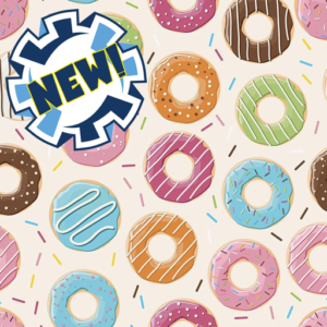 Dynamic Orthopedics Transfer Paper Donuts New