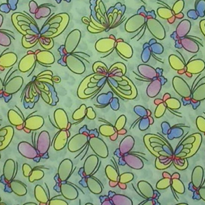 Dynamic Orthopedics Transfer Paper Green Butterflies