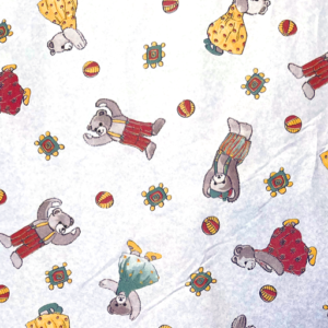 Dynamic Orthopedics Transfer Paper Little Bears White