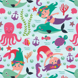 Dynamic Orthopedics Transfer Paper Mermaids