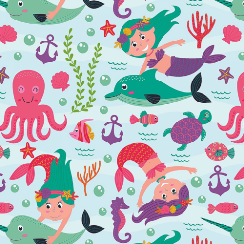 Dynamic Orthopedics Transfer Paper Mermaids