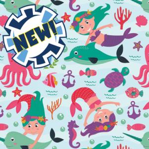 Dynamic Orthopedics Transfer Paper Mermaids New