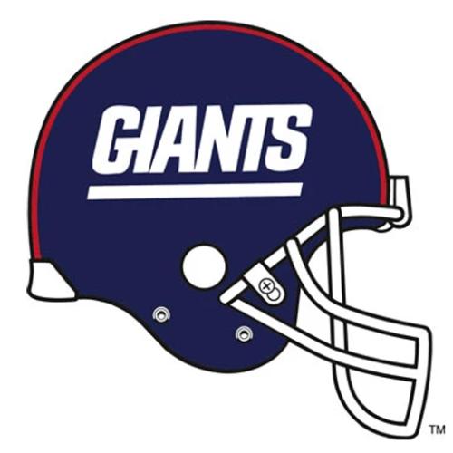 Dynamic Orthopedics Transfer Paper NFL NEW YORK GIANTS
