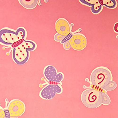 Dynamic Orthopedics Transfer Paper Pink Butterflies