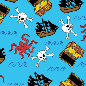 Dynamic Orthopedics Transfer Paper Pirate Kraken