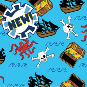 Dynamic Orthopedics Transfer Paper Pirate Kraken New