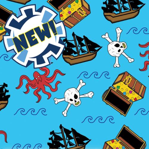 Dynamic Orthopedics Transfer Paper Pirate Kraken New