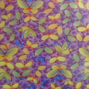 Dynamic Orthopedics Transfer Paper Purple Butterflies