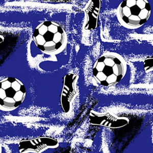 Dynamic Orthopedics Transfer Paper Soccer Blue