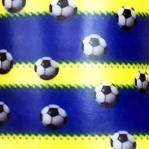Dynamic Orthopedics Transfer Paper Soccer Blue Yellow Stripe
