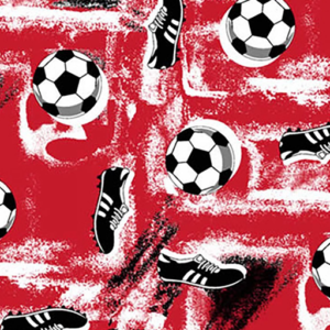 Dynamic Orthopedics Transfer Paper Soccer Red