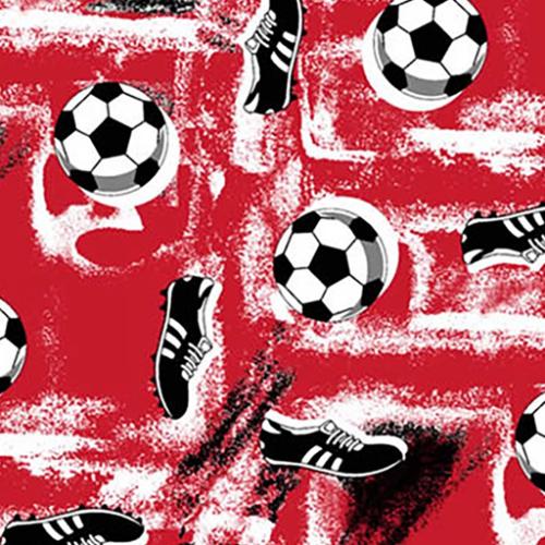 Dynamic Orthopedics Transfer Paper Soccer Red