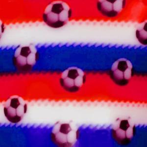 Dynamic Orthopedics Transfer Paper Soccer Red Blue Stripe