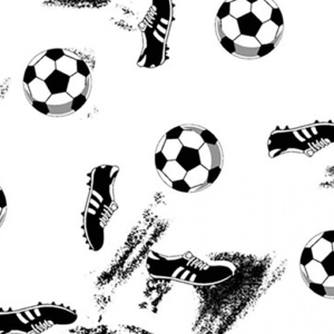 Dynamic Orthopedics Transfer Paper Soccer White